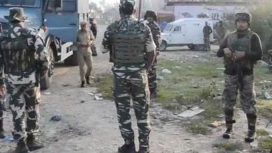 Photo of اننت ناگ مسلح تصادم : حزب المجاہدین کا ڈویژنل کمانڈر سمیت 2 جنگجو ہلاک