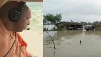Photo of سیلاب متاثرہ علاقوں کے حالات دیکھنے کے لئے یوگی آدتیہ ناتھ کاہوائی معائنہ