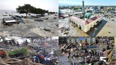 Photo of انڈونیشیا میں سونامی کی تباہی: اب تک 832 لوگوں کی موت