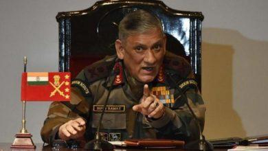 Photo of اگر پاکستان بات چیت کرنا چاہتا ہے، تواسے دہشت گردی پرلگام کسنی ہوگی: بپن راوت