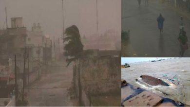 Photo of سمندری طوفان تتلی اوڈیشہ کے ساحل سے ٹکرایا: کئی جگہ درخت اکھڑے، حکام چوکس