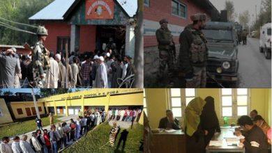 Photo of جموں وکشمیر بلدیاتی انتخابات: تیسرے مرحلے کی پولنگ شروع، کونے کونے پر سیکورٹی کی نظر
