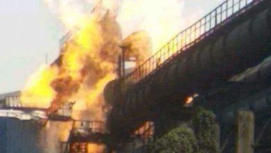 Photo of بھلائی اسٹیل پلانٹ کی گیس پائپ لائن میں دھماکہ، 6افراد کی موت