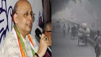 Photo of دہلی کی فضا ئی آلودگی کے لئے عام آدمی پارٹی اور بی جے پی ذمہ دار :کانگریس
