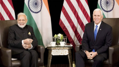 Photo of سنگاپور میں وزیر اعظم مودی اور امریکی نائب صدر مائک پینس کی ملاقات، عالمی اسٹراٹیجک شراکت پر بات چیت
