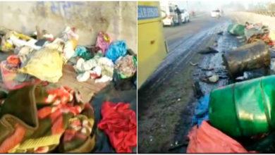 Photo of ہریانہ: فٹ پاتھ پر سو رہے مزدوروں کو کار نے روندا، 5 ہلاک 9 زخمی