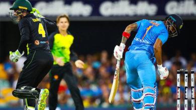 Photo of آسٹریلیا نے پہلے ٹی-ٹوئنٹی میچ میں انڈیا کو 4 رنز سے دی شکست