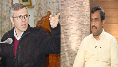 Photo of رام مادھو اپنے الزامات ثابت کریں یا پھر معافی مانگیں: عمر عبداللہ