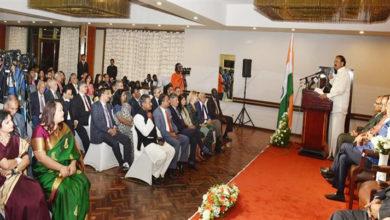 Photo of بین الاقوامی منظر نامے پرہندوستانی معیشت ایک درخشاں ستارہ: وینکیا نائیڈو
