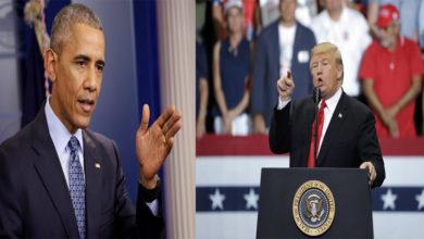 Photo of ٹرمپ-اوباما کے درمیان زبانی جنگ شباب پر
