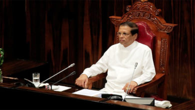 Photo of سری لنکا :پارلیمنٹ کی معطلی مزید10روز تک برقرار رکھنے کا فیصلہ