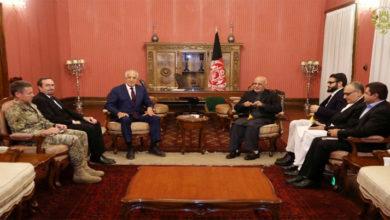 Photo of امریکی مندوب سے طالبان کی ملاقات، طویل ترین جنگ کےخاتمے پر گفت و شنید