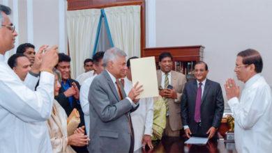Photo of سری لنکا: وکرم سنگھے نے لیا وزیراعظم کے عہدے کا حلف
