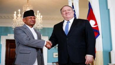 Photo of امریکہ-نیپال کا دوطرفہ تعلقات کو مضبوط بنانے پر تبادلہ خیال