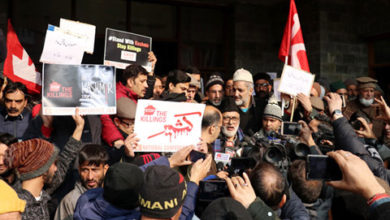 Photo of پلوامہ ہلاکتوں کے خلاف ریاست بھر میں نیشنل کانفرنس کی احتجاجی ریلیاں