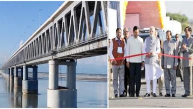 Photo of مودی نے ملک کے سب سے لمبے ریل-سڑک پل کا کیا افتتاح