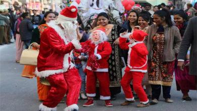 Photo of پورے ملک میں کرسمس کا تہوار جوش وخروش کے ساتھ منایا گیا
