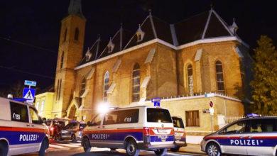 Photo of آسٹریا: ویانا میں چرچ پر حملہ، 15افراد زخمی