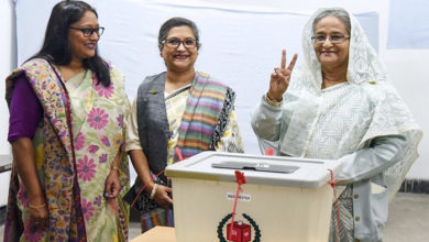 Photo of بنگلہ دیش انتخابات میں شیخ حسینہ کی شاندار جیت، اپوزیشن کا دوبارہ انتخابات کرانے کا مطالبہ
