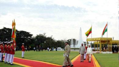 Photo of صدرجمہوریہ کووند نے میانمار کے صدر اوراسٹیٹ کونسلر سے کی ملاقات