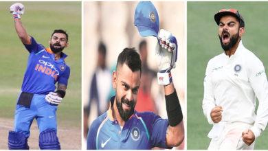 Photo of ICCایوارڈ 2018 میں وراٹ کوہلی کا جلوہ، ٹاپ 3 ایوارڈس جیتنے والے دنیا کے پہلے کھلاڑی بن گئے