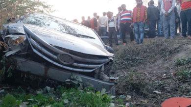 Photo of اتر پردیش: اٹاوہ میں شرابی کار ڈرائیور نے 8 لوگوں کو روندا