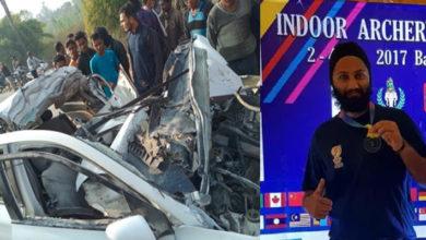 Photo of جھارکھنڈ: عالمی چیمپئن تیرانداز جسپال سنگھ کی سڑک حادثے میں موت