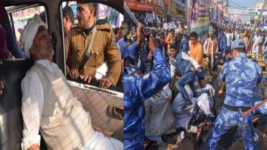 Photo of پٹنہ: RLSP کے کارکنوں پر لاٹھی چارج، اوپیندر کشواہا سمیت کئی کارکنان زخمی