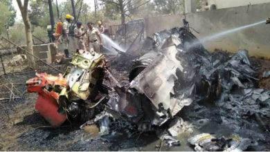 Photo of فضائیہ کے دو ہاک طیارے حادثے کے شکار، ایک پائلٹ کی موت