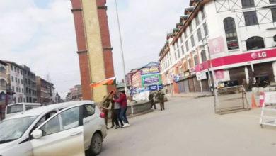 Photo of جموں وکشمیر: لال چوک میں ترنگا لہرانے کی کوشش ناکام، اکالی دل کے کارکن گرفتار