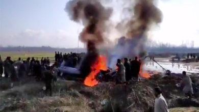 Photo of کشمیر میں انڈین ایئر فورس کا جنگی طیارہ گر کر تباہ، 2 پائلٹ سمیت 5 اہلکار ہلاک