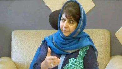 Photo of ابھی نندن کی رہائی کا اعلان ایک عظیم فیصلہ اور مفاہمت کی علامت: محبوبہ مفتی