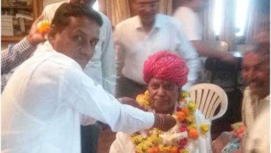 Photo of سابق وزیر گھنشیام پاٹیدار کا انتقال