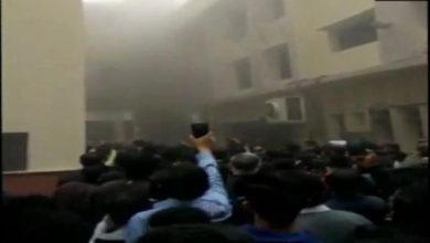 Photo of دہلی ہائی کورٹ کے کینٹین میں لگی آگ