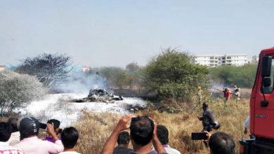 Photo of فضائیہ کا مراج تربیتی طیارہ حادثہ کا شکار، دونوں پائلٹوں کی موت