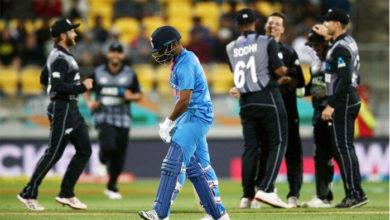 Photo of پہلے ٹی-20 میں ٹیم انڈیا کو ملی شرمناک شکست، نیوزی لینڈ کے سامنے ٹیکے گھٹنے