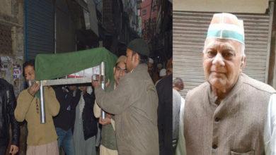 Photo of مجاہد آزادی شوکت علی ہاشمی کا انتقال