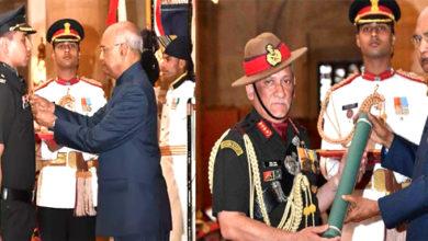 Photo of صدر جمہوریہ کے بدست فوجی خصوصی خدمات ایوارڈ سے سرفراز