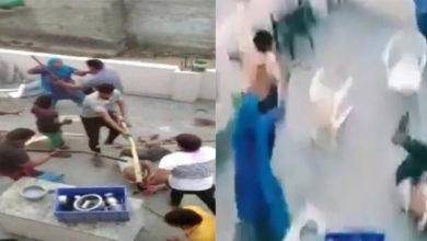 Photo of ویڈیو: مسلم خاندان کے گھر پر شرپسندوں کا حملہ، فیملی کے افراد کو لاٹھی-راڈ سے پیٹا