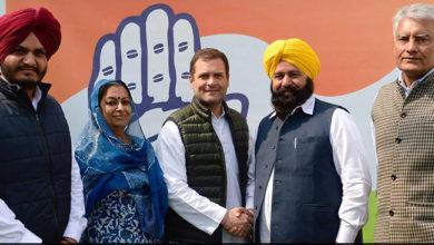 Photo of بی جے پی-اکالی دل اتحاد کو لگا جھٹکا، ممبر پارلیمنٹ شیر سنگھ کانگریس میں شامل