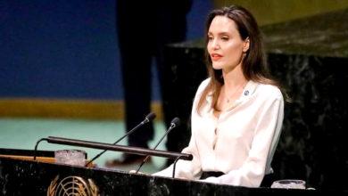 Photo of انجلیناجولی کا مطالبہ، 'اقوام متحدہ امن مشن' میں خواتین کی تعداد میں ہو اضافہ