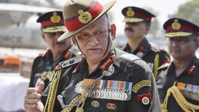 Photo of فوج دشمن کے ناپاک منصوبوں کو ناکام کرنے کی پوری اہلیت رکھتی ہے: بپن راوت