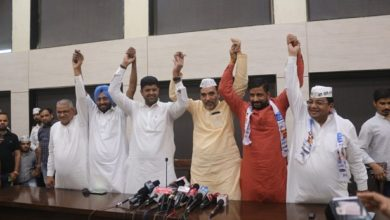 Photo of 'عام آدمی پارٹی' اور 'جن نائک جتنا پارٹی' کا ہریانہ میں اتحاد