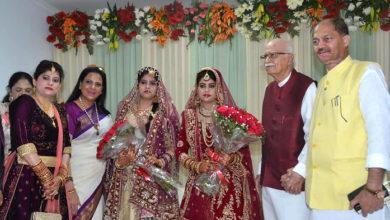 Photo of تصویریں: معروف سیاسی لیڈر عرفان احمد کی بیٹیوں کی شادی خانہ آبادی