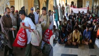 Photo of پاکستان میں قید 55 ہندستانی ماہی گیر اور 5 دیگر ہندستانی شہری رہا