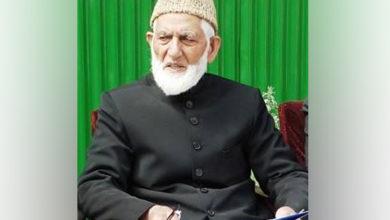 Photo of حریت لیڈر سید علی گیلانی علیل، صورہ میڈیکل انسٹیچوٹ میں زیر علاج