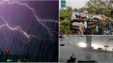 Photo of بے موسم بارش، آندھی سے متاثرہ اہل خانہ کے لئے امدادی رقم کا اعلان