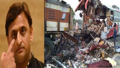 Photo of آگرہ-لکھنؤ ایکسپریس وے پر خوفناک حادثہ: 7 افراد ہلاک جبکہ 34 زخمی، عیادت کے لئے پہنچے اکھلیش