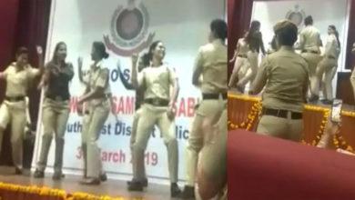 Photo of سپنا چودھری کے گانے پر تھرکیں خواتین آئی پی ایس، ویڈیو ہوا وائرل