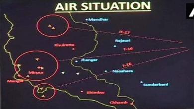 Photo of پاکستان کا ایف16 طیارہ گرانے کے پختہ ثبوت ہیں: فضائیہ